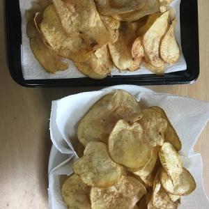 ◆ポテトチップスと大葉。。。