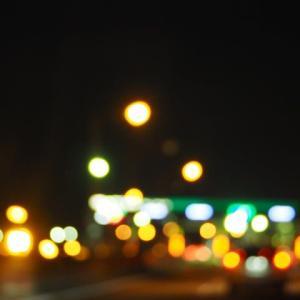 街が浮かぶ夜