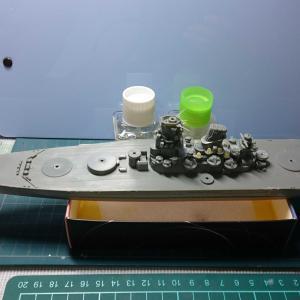 戦艦 武蔵建造開始