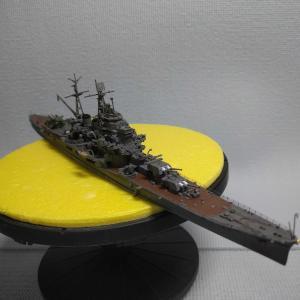 重巡洋艦 摩耶 完成