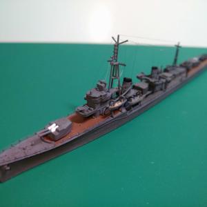 駆逐艦 時雨 完成