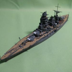 戦艦 「長門」完成