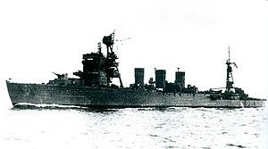 軽巡洋艦 五十鈴 完成