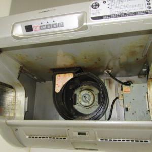 自宅換気扇フィルターの掃除