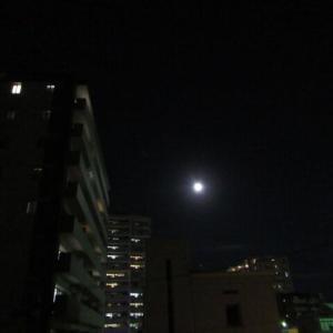 今夜ほぼ満月