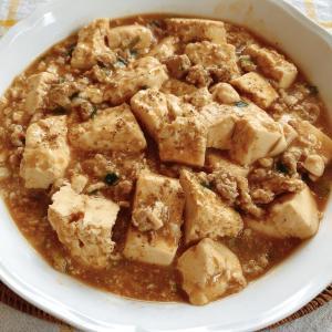 「餃子の具から麻婆豆腐へ」アレンジレシピ