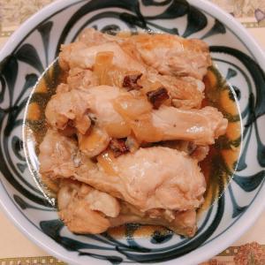 ホロホロ柔らか「鶏手羽元の甘辛煮」