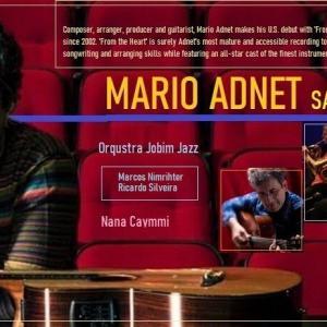 「マリオ・アヂネーのジョビン・ジャズ」