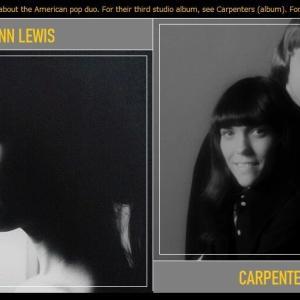 アン・ルイス、カーペンターズを歌う