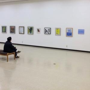 松阪美術協会新春展 1月26日まで松阪市文化財センターで開催中です