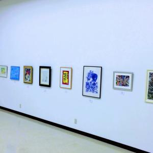 松阪美術協会展に出品しました。ボールペンで描いています♪