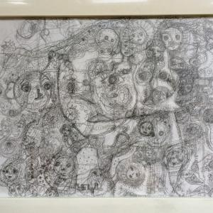 鉛筆画 来週の松阪美術協会展はコロナで中止(+_+)