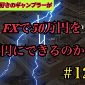 【FX裁量日記】#12 FXで50万円を1億円にできるのか!?