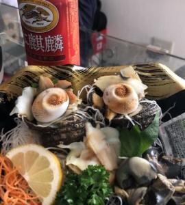 ダーイシさん(^^)お魚美味しかったよ(^ ^)