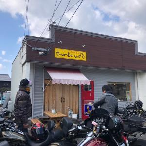 太宰府ライダースカフェでカレーto志村けんさんご冥福をお祈りいたします・・・。