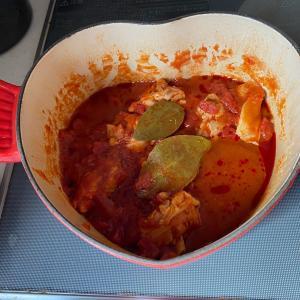 チキンのトマト煮^^