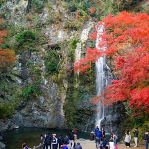 【2019年版】大阪の紅葉スポット「箕面の滝(箕面大滝)」|見頃やアクセスなどを紹介!