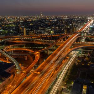 東大阪市役所展望ロビーからの東大阪ジャンクションの夜景|撮影記やアクセスなどの基本情報を紹介!