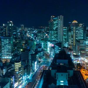 大阪梅田の夜景スポット「大阪駅前第3ビル」|夜景写真とアクセス・駐車場を紹介