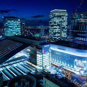 大阪梅田の夜景スポット「阪急グランドビル」 夜景写真やアクセスなどを紹介