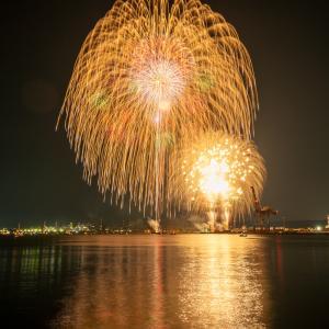 【和歌山旅行記】和歌山港まつり花火大会で花火撮影してきた|2019年7月