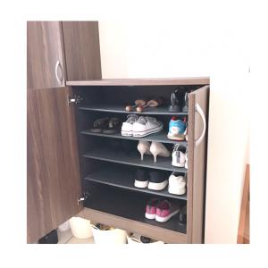 夏を終えた靴箱整理。