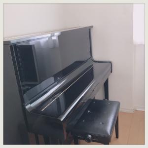 ピアノの調律。