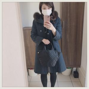 冬のコーデ。毎日コート。