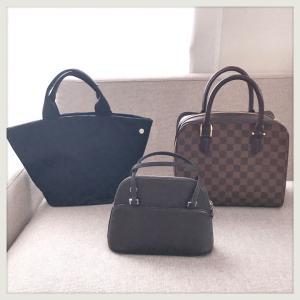 バッグは再び3個。バッグ問題解決!