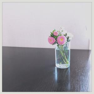お花を手放す。