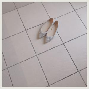 雨の日靴。