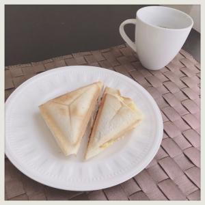 朝食に感じる幸せ。