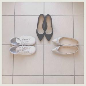 靴は3足。