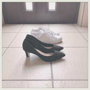 靴が2足になりまして。