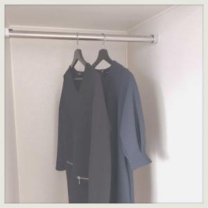 服が2枚になりまして。