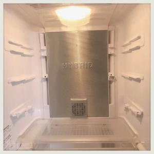 冷蔵庫のリセット。