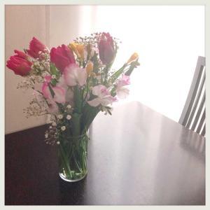 花瓶は1個。