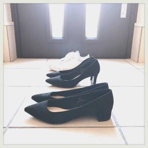 靴がまた2足に戻ります。