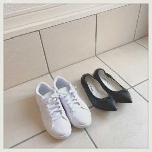 夏、靴2足生活。