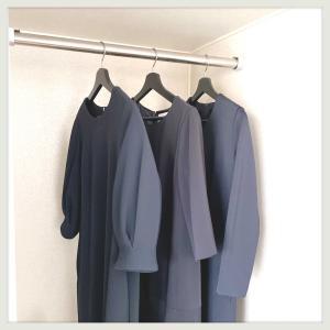 秋冬ワンピースは3着。もぅワンピースは買わない。