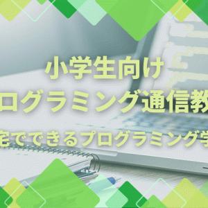 小学生向けプログラミング通信教育!自宅でできるプログラミング学習
