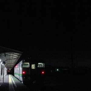 今朝の花咲線始発列車はキハ40JR北海道色で代走