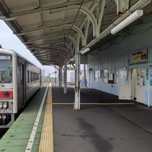 今日は花咲線根室駅99歳の誕生日