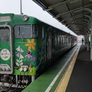 期間限定花咲線2両編成は本日が最終日でした。