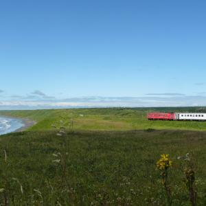 地球探索鉄道花咲線絶景スポット落石海岸