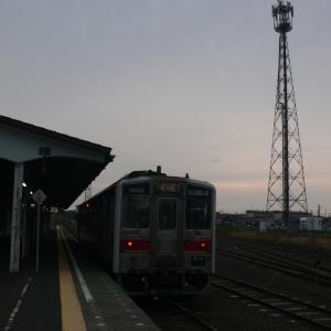 花咲線は夕方から降雨のため終日運休~明日も一部運休