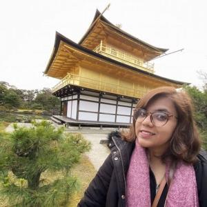 ポロマ、金閣寺に行く