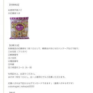 三立製菓キャンペーン 2種