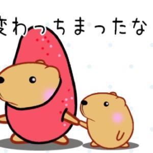 """""""スーパー巡り""""  去年の今頃"""