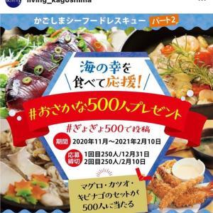 お魚500人プレゼント情報